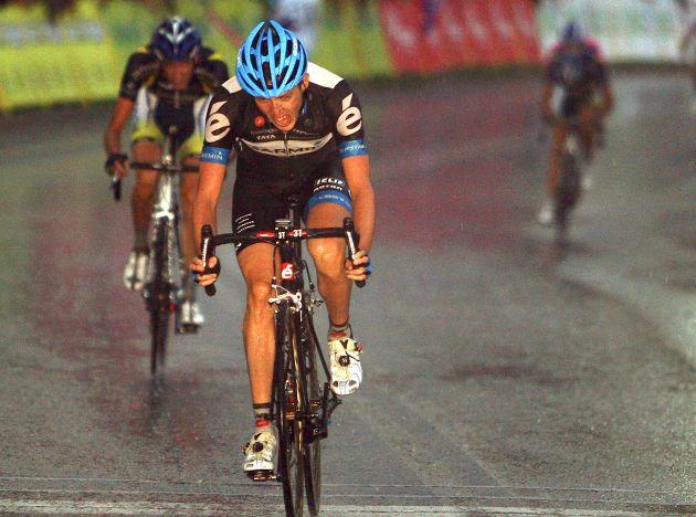 Dan Martin Garmin Cervelo wins stage 6 of 2011 Tour of Poland