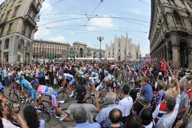 Milan stage 9 Giro 2009