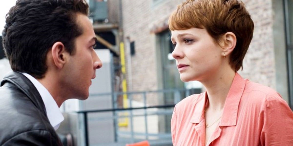 Shia LaBeouf and Carey Mulligan in Wall Street: Money Never Sleeps