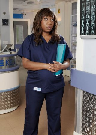 Holby's Chizzy: 'Giving birth on TV is a workout!'