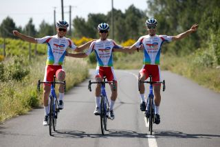 The new Team TotalEnergies kit