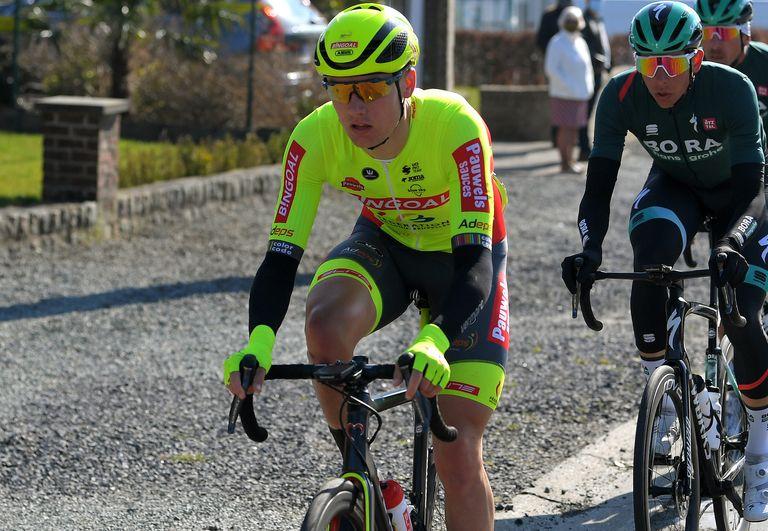 Tom Paquot at Kuurne-Brussels-Kuurne 2021
