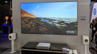 CEDIA: Epson launches LS-500 4K ultra short-throw Laser Projection TV
