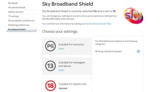 Sky rolls out its internet filters, but it's not mandatory just yet