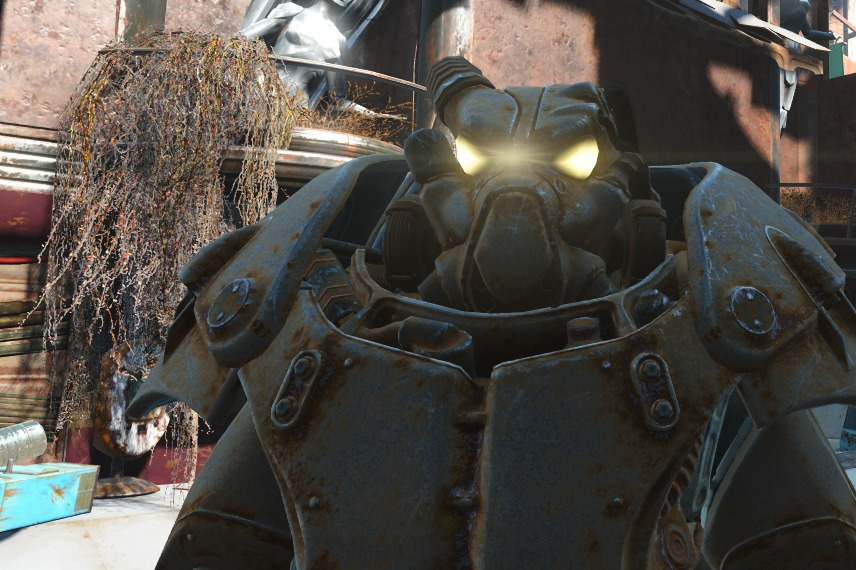 fallout 4 power armor where to find the x 01 power armor set pc gamer