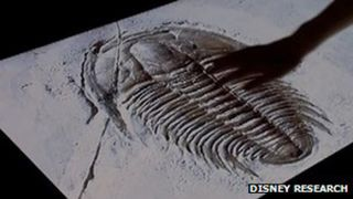 Disney touchscreen fossil