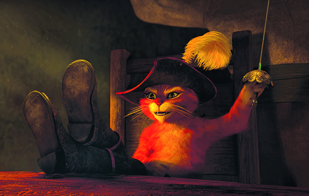 This Shrek spin-off gives one of its best characters an adventure of his own. And doesn't Antonio Banderas, as the voice of swashbuckling Puss, sound like the cat who got the cream?