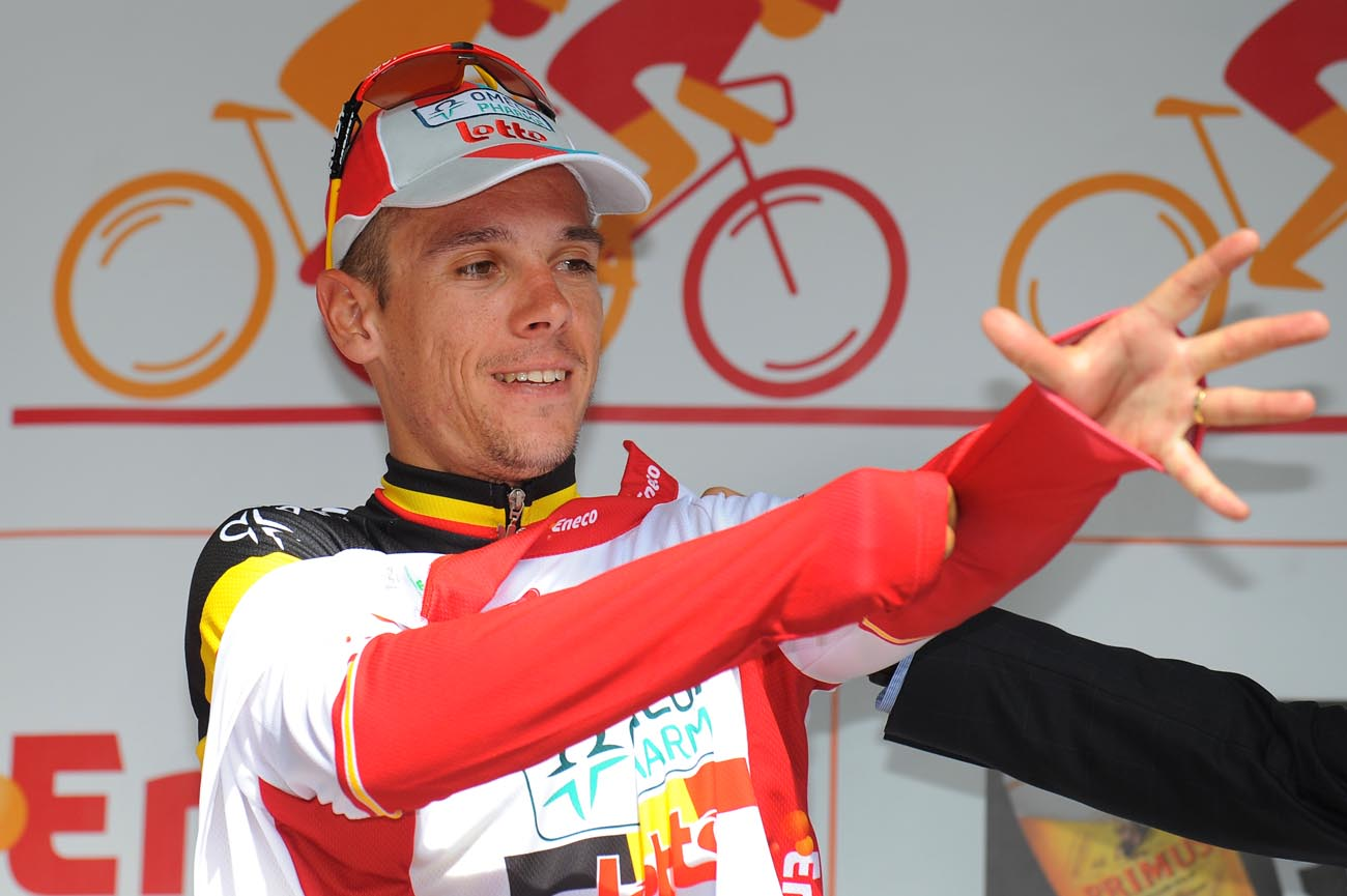 Philippe Gilbert takes race lead, Eneco Tour 2011, stage three