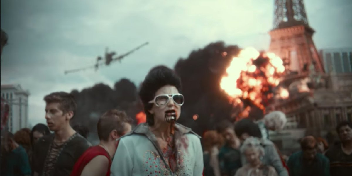 Elvis Zombie in Army of the Dead