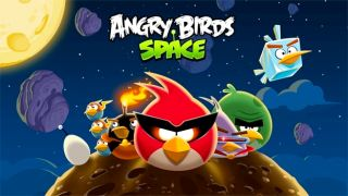 Angry Bird Space shatters download records