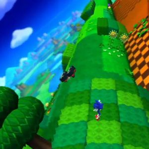 Gameplay videos of Sonic: Lost World's Wii U and 3DS versions