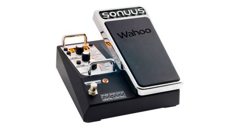 The Wahoo is a unique wah pedal with two synth-inspired analogue filters and 200 onboard memories
