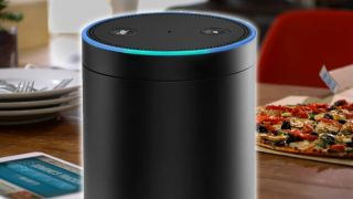 The Amazon Echo lets you order pizza