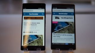 OnePlus 2 and OnePlus One