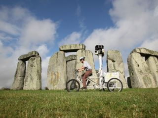The Google trike - how will it cope with grass and druids?