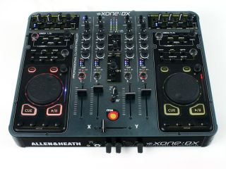 The Xone DX can be used with all major DJing software