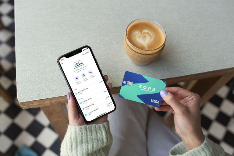 Zopa Visa card and app