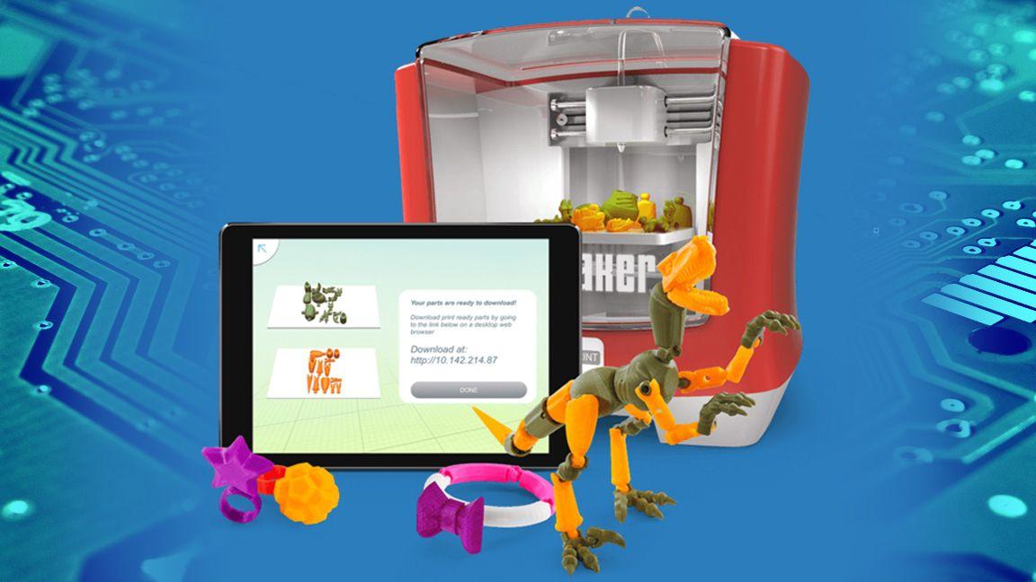 Mattel's 3D printer lets kids make their own toys