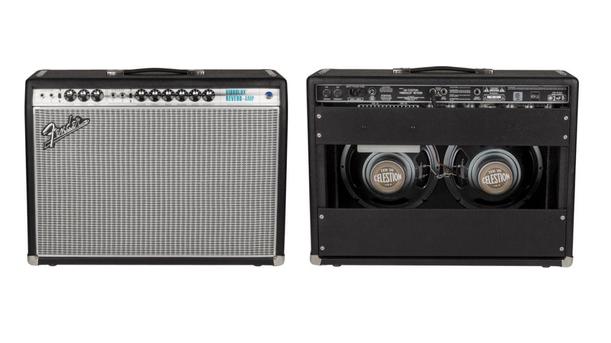 fender adds vibrolux reverb to 39 68 custom amp line up musicradar. Black Bedroom Furniture Sets. Home Design Ideas