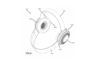 Dyson reveals patent application for a set of air purifying headphones