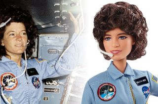 Mattel's new Barbie Inspiring Women Series Sally Ride doll pays tribute to the first American woman to fly into space.