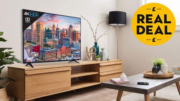Sky broadband: TCL 65S517 65-Inch 4K Ultra HD Roku Smart LED TV