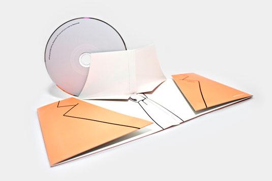 Nicki Van Roon's CD packaging work