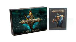 The Soul Wars box and the cover of the Second Edition Core Book
