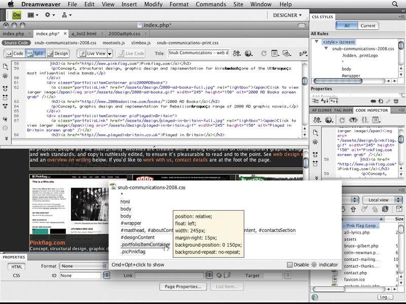 Adobe Dreamweaver CS4 purchase