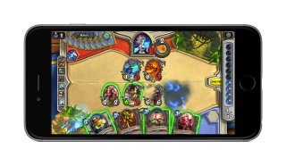 Hearthstone on phone