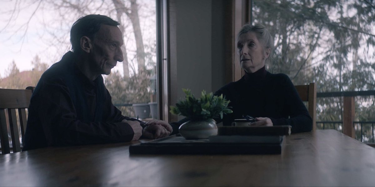 Julian Richings and Sheila McCarthy in Anything For Jackson