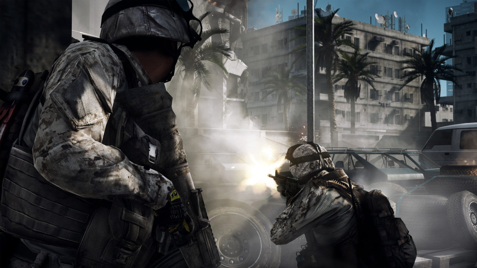 Battlefield 3 HD Concept Art And In-Game Screenshots Released #16617
