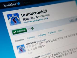 Hackers posted messages on North Korea's official Twitter account