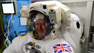 Tim Peake SpaceWalk