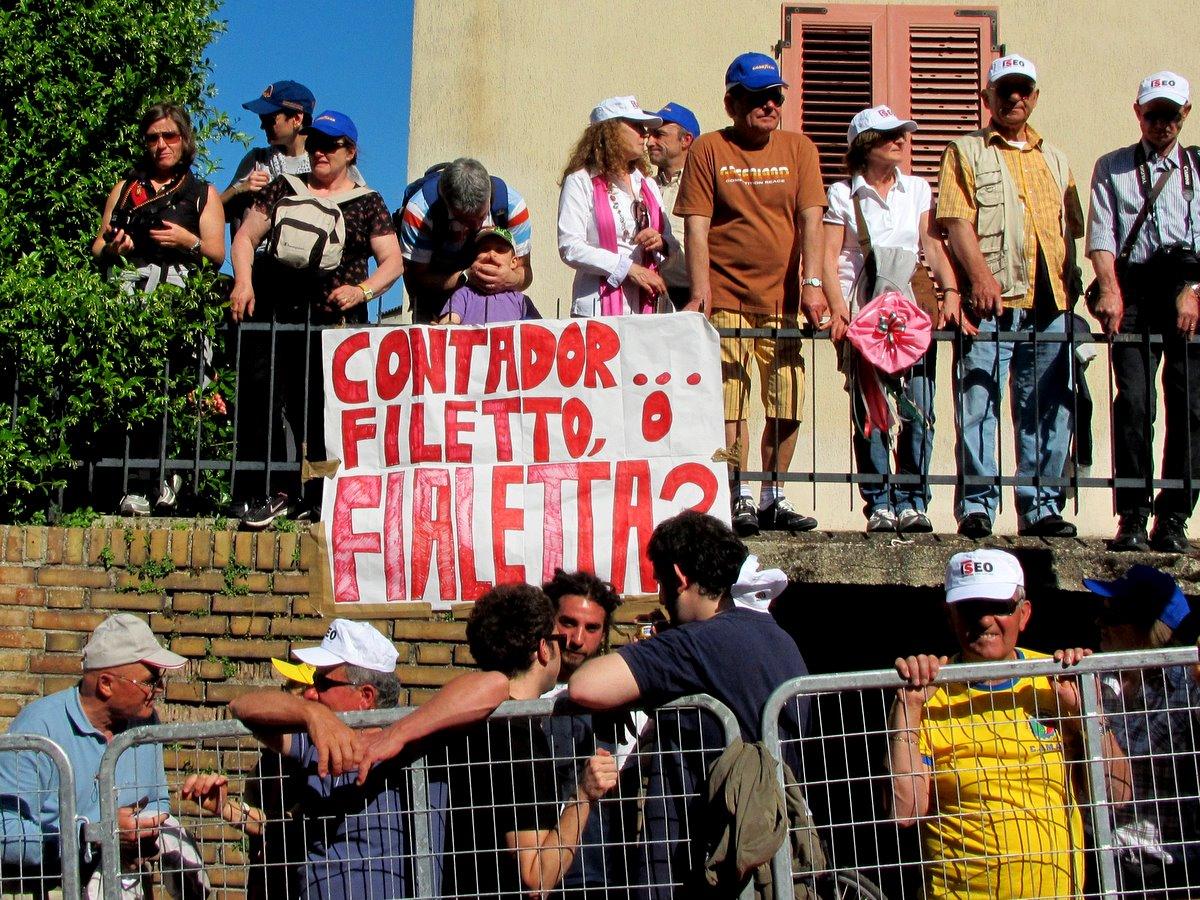 Contador sign, Giro d