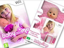 Baby and Me for Nintendo Wii slightly creepy or toy making genius