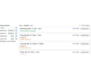 Google's Smart Rescheduler