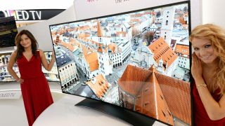 LG wins buzzword bingo with the world's biggest Ultra HD curved OLED TV