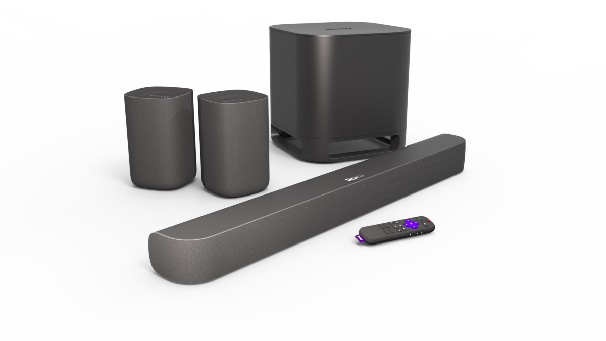 Roku soundbar now supports surround sound — and it works great