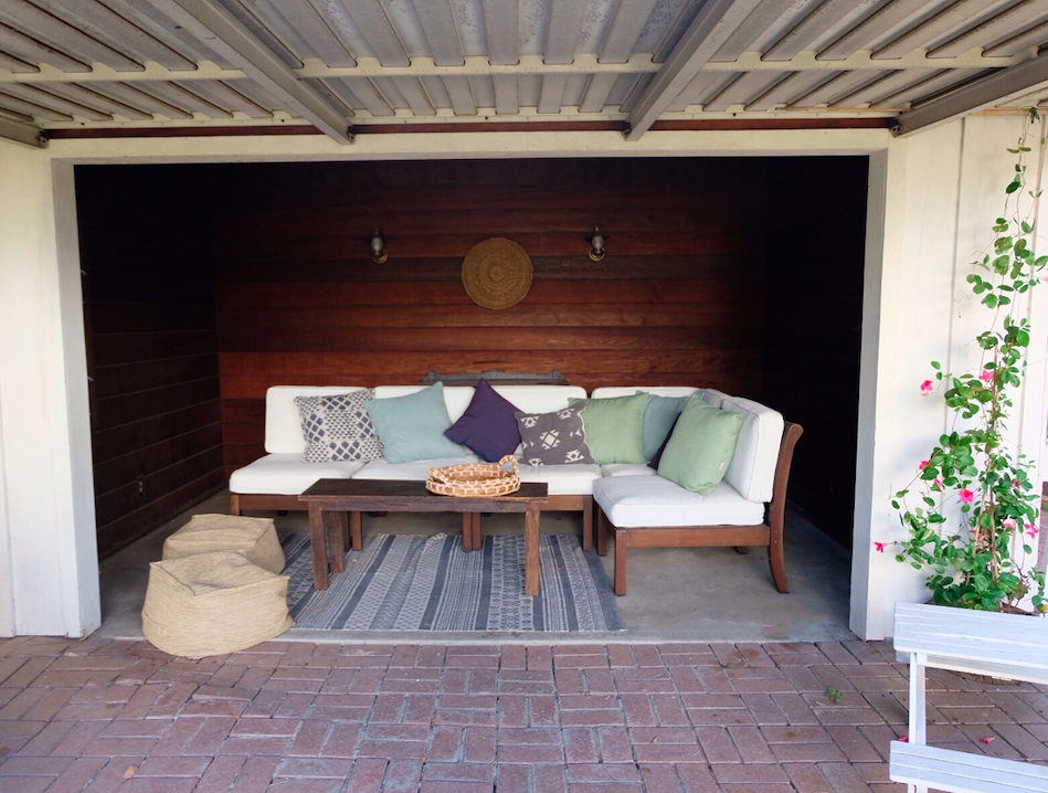 This garage renovation cost less than $200 - you won't believe the photos