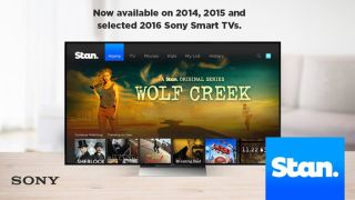Stan has finally arrived on Sony Smart TVs