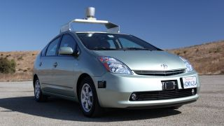 Google's self-driving cars to hit the road within 10 years?