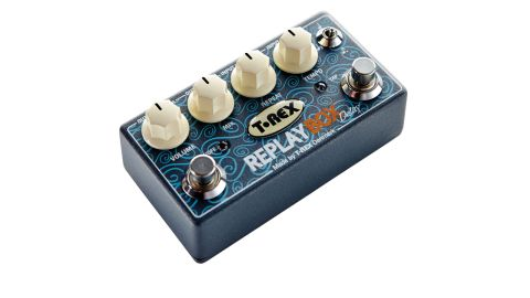 The tap tempo and subdivision toggle-switch help set this compact delay apart from the crowd