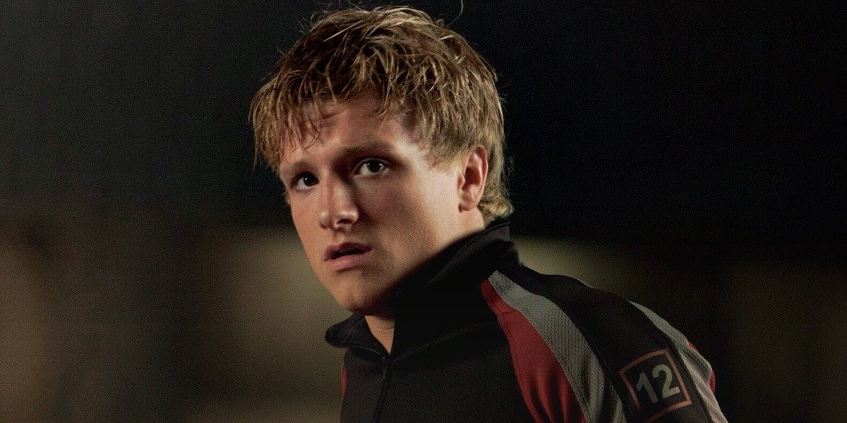 Josh Hutcherson as Peeta Mellark in The Hunger Games
