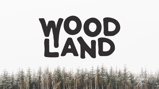 Font of the day: Woodland