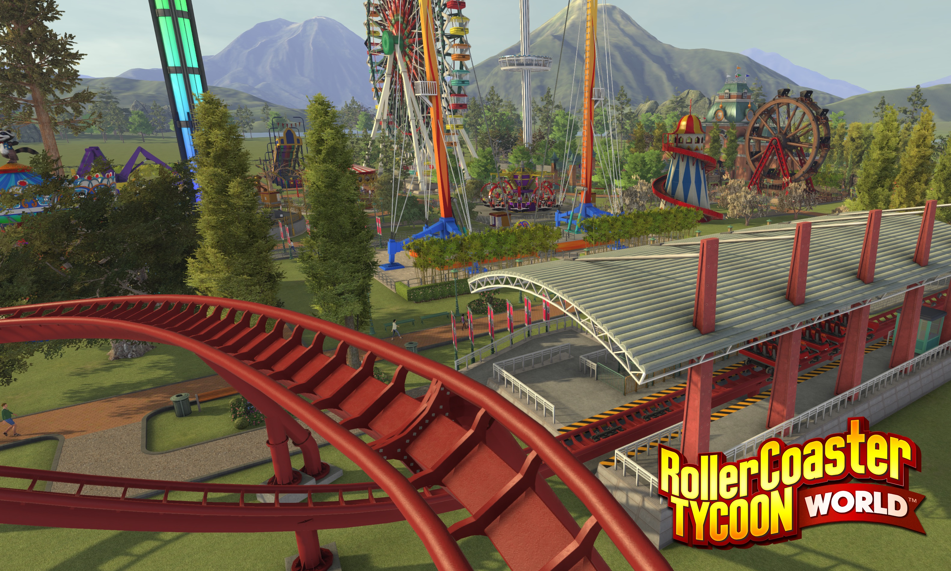 RollerCoaster Tycoon World shunted to Early Access model | PC Gamer