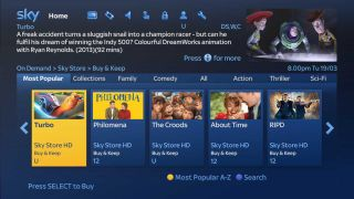 Sky launches 'buy and keep' movie service that also gives you the DVD