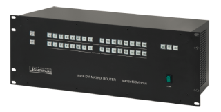 Lightware U.S.A. Releases DVI Matrix Switchers with Built-in Power Supplies