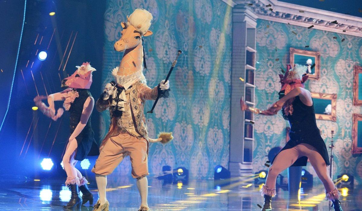 the masked singer season 4 giraffe fox