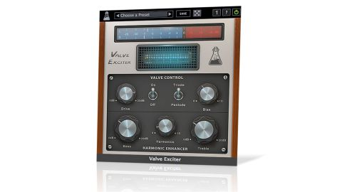 Valve Exciter comprises three sections: a solid state preamp emulation, the ECC83 valve emulation and the post valve EQ